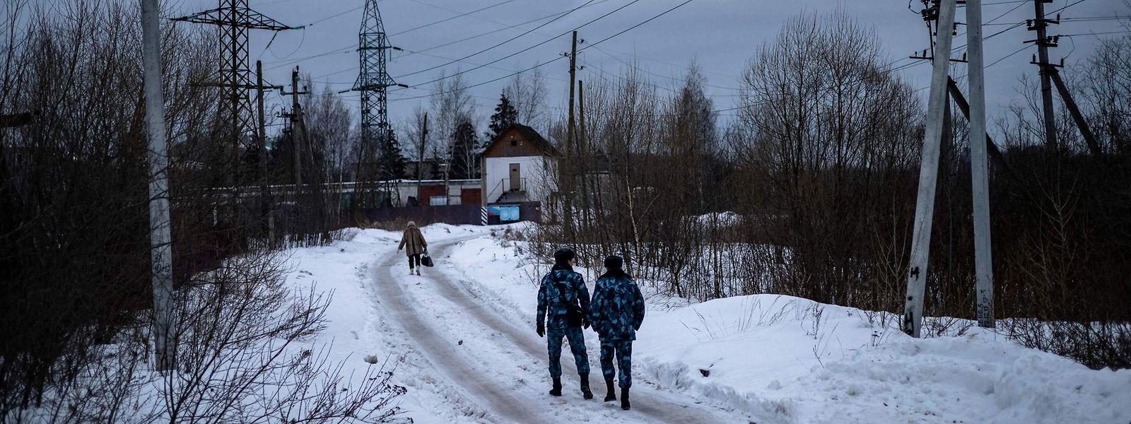 """Die Justizvollzugsanstalt IK-2 in Pokrow in der Region Wladimir ist Alexej Nawalnys neues """"Zuhause"""" für die kommenden zweieinhalb Jahre."""