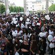 4.7.2018 Luxembourg, Esch, place de la résistance, cérémonie d'adieu pour le Rapper Puto G. photo Anouk Antony