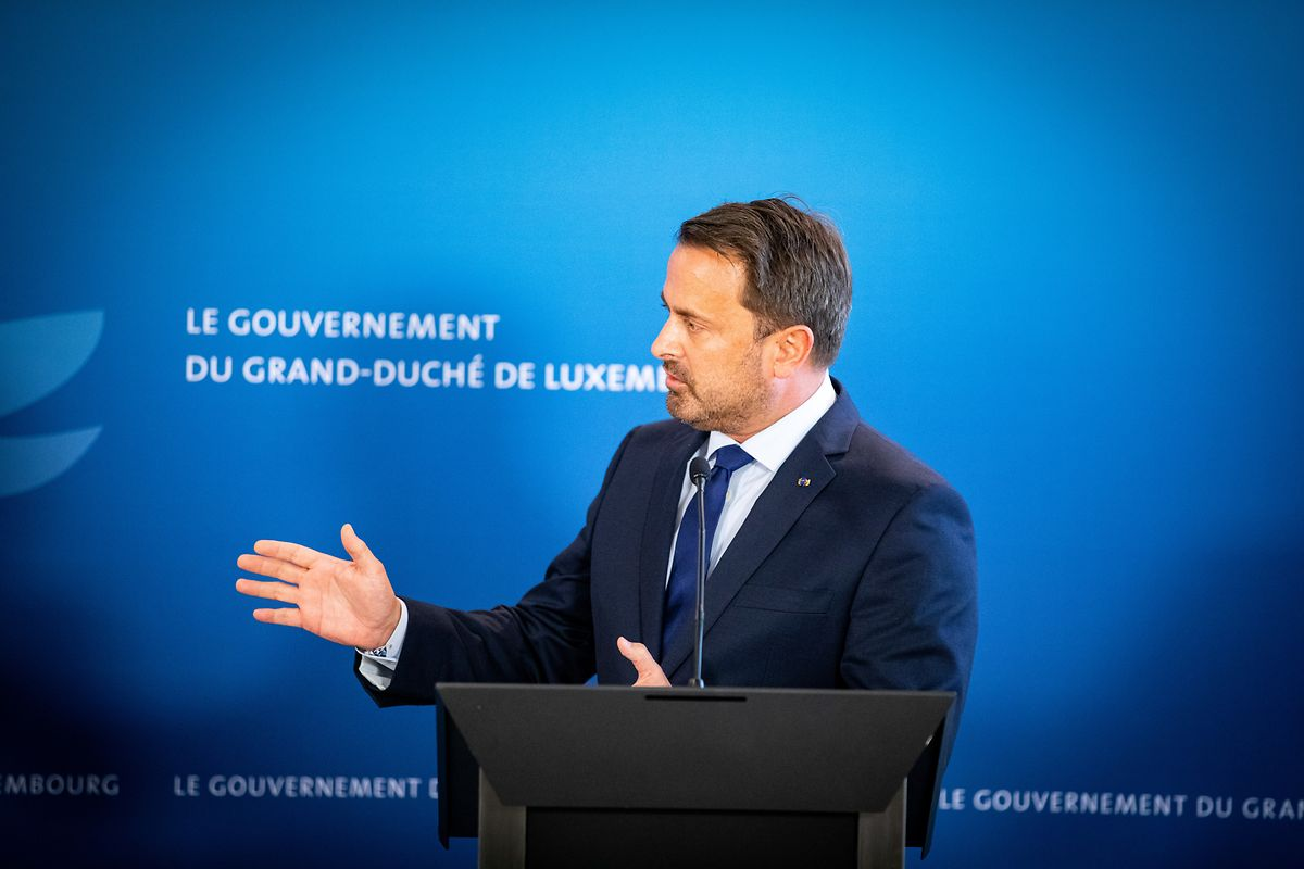 An der Pandemiestrategie der Regierung wird sich vorerst nichts ändern, so Premier Bettel.