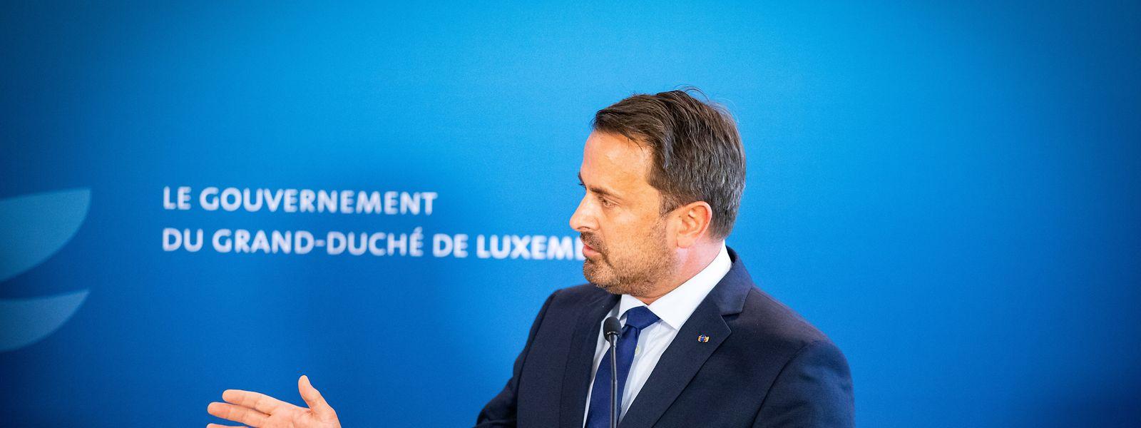 Die Pandemiestrategie des Premierministers Xavier Bettel steht in der Kritik.