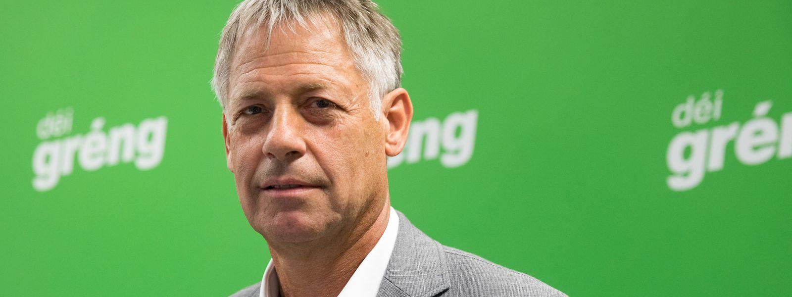 """Henri Kox: Bis dato dienstältester Abgeordneter von Déi Gréng, demnächst """"jüngstes"""" Regierungsmitglied."""