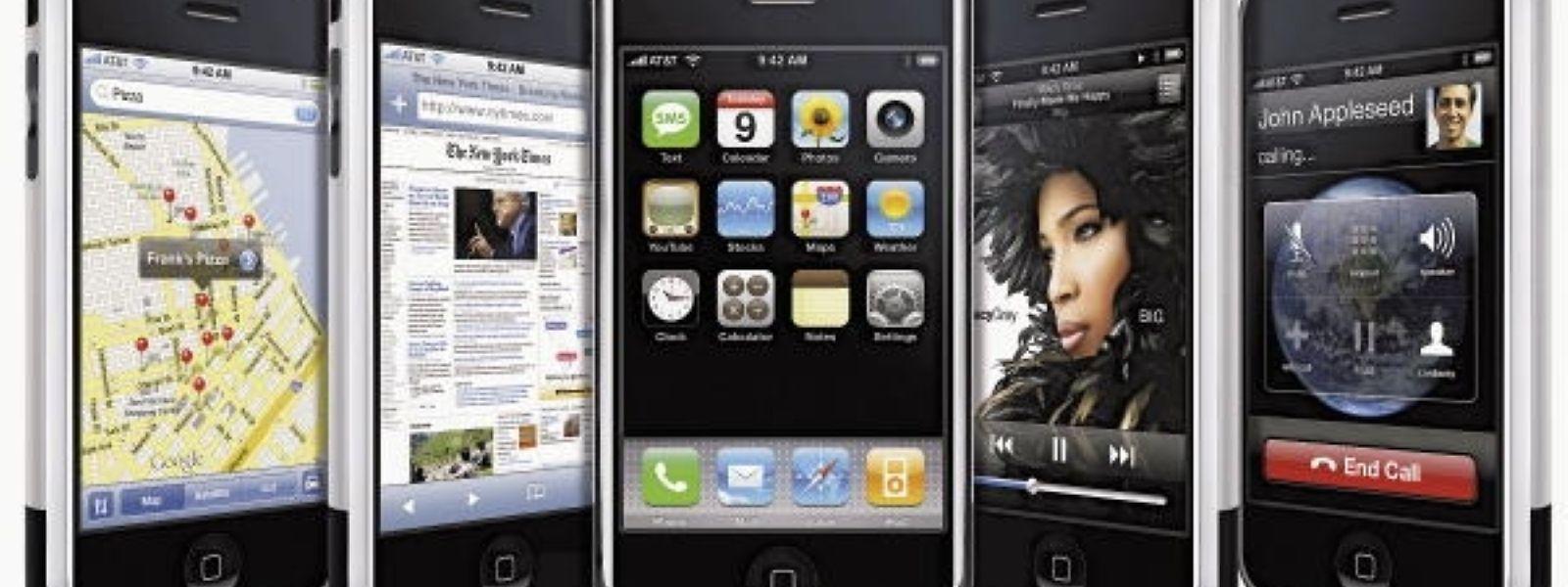 Zehn Jahre iPhone - und ein Blick ins Archiv.