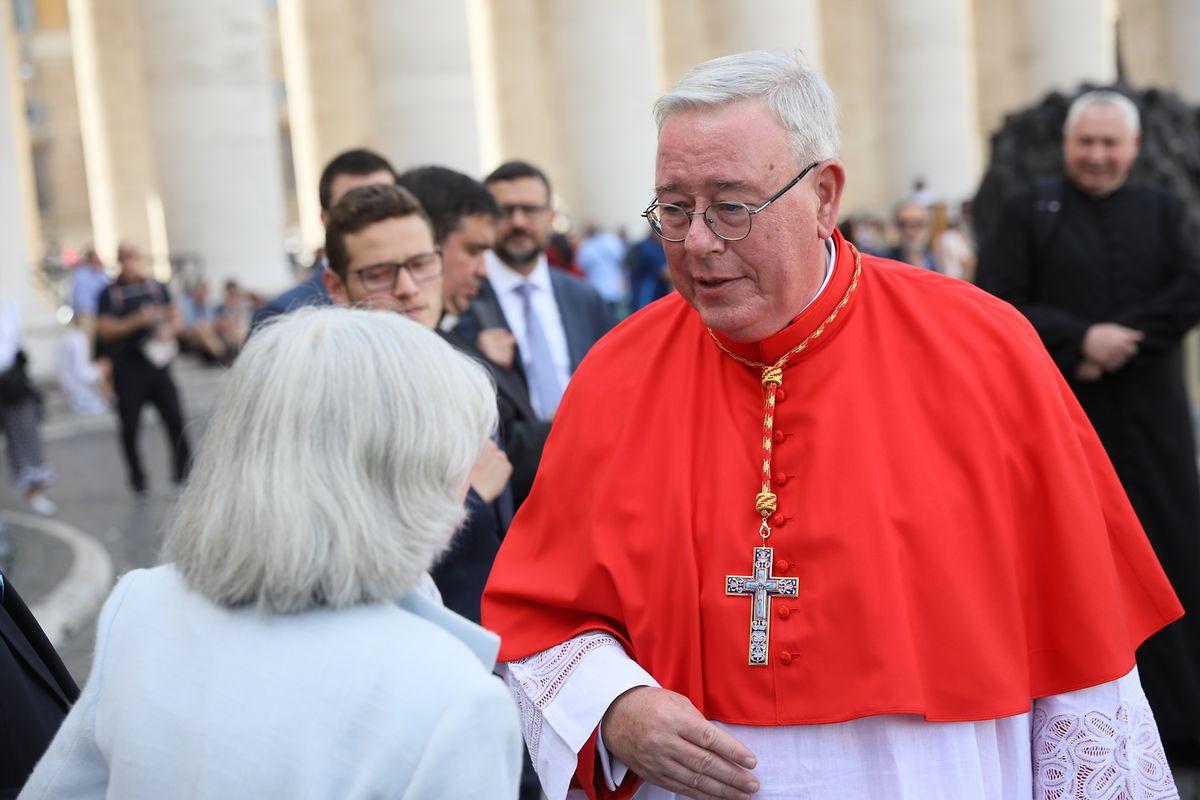 Jean-Claude Hollerich no Vaticano.