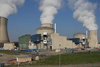 Die Atomzentrale Cattenom.