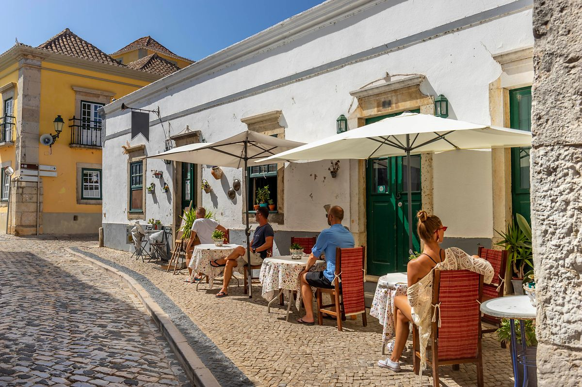Faro's old town of white-washed houses is a lovely setting for a seafood lunch