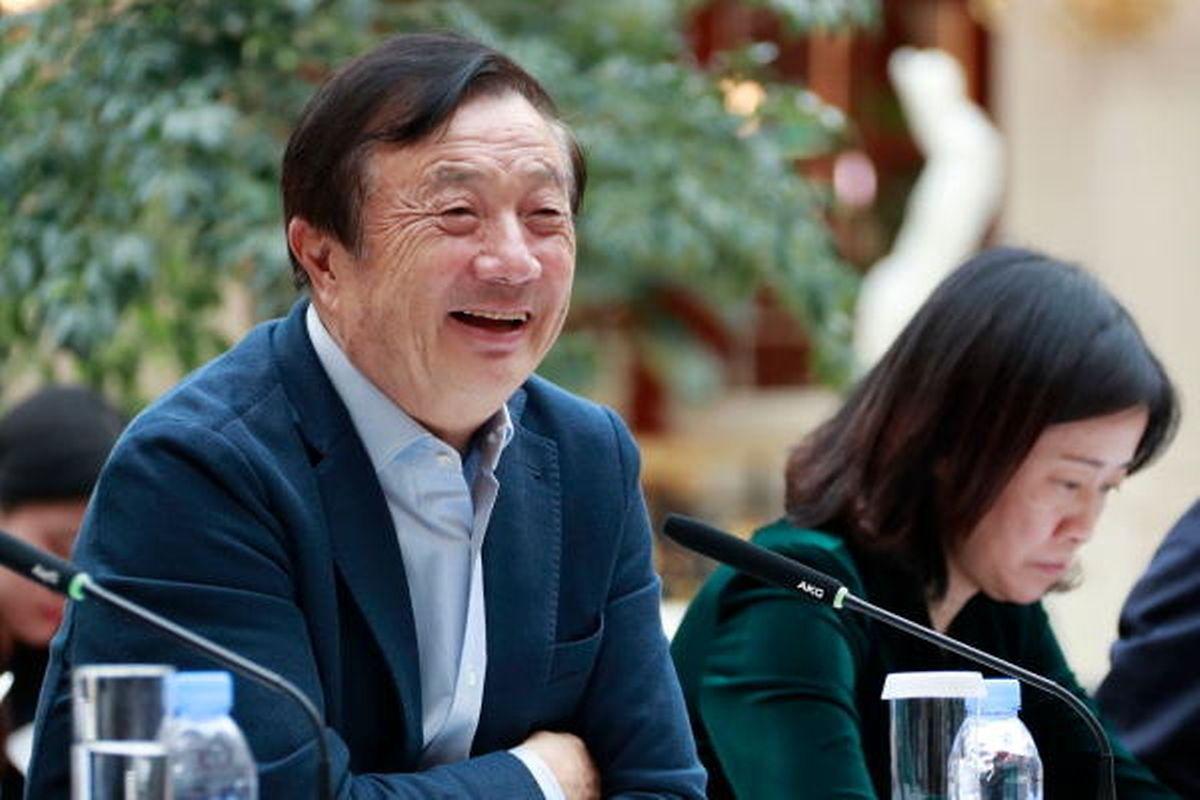 Le fondateur de l'entreprise, Ren Zhengfei, peut se féliciter d'une bonne année 2018.