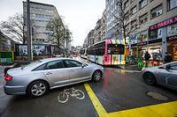 Verkehrssituation Luxemburg Bahnhof - Gare - Verkéier, Stau, Chaos - Foto: Pierre Matgé/Luxemburger Wort