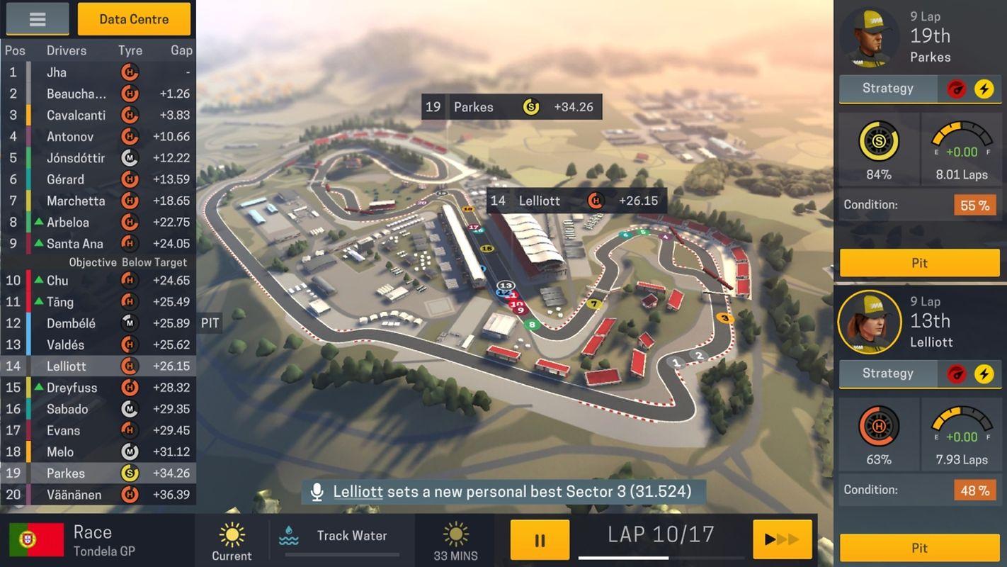 """Um alles rund um die Rennpiste müssen sich die Spieler in """"Motorsport Manager Mobile 2"""" kümmern."""