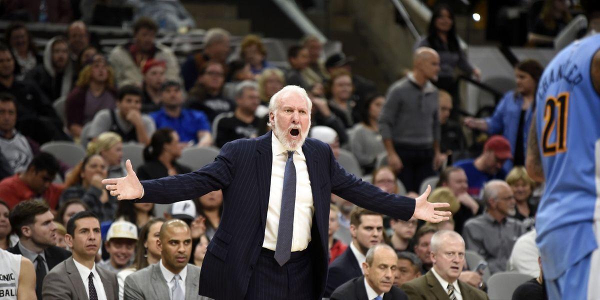 Record de victoires en NBA pour Gregg Popovich (Spurs).