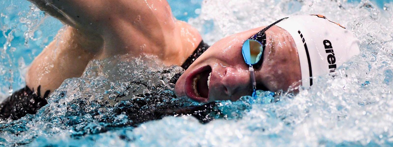 Schwimmerin Julie Meynen hat die Olympia-Qualifikation nicht mehr in der eigenen Hand.