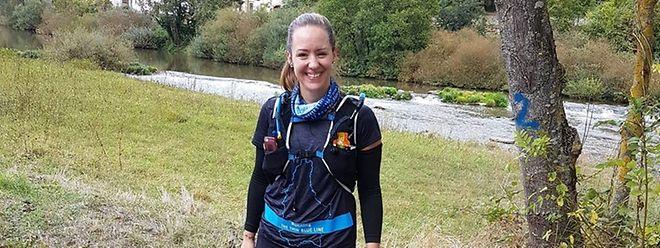 Um Geld für verunfallte Kollegen zu sammeln, ist Polizistin Kristina Wagner in der vergangenen Woche um Luxemburg gelaufen.