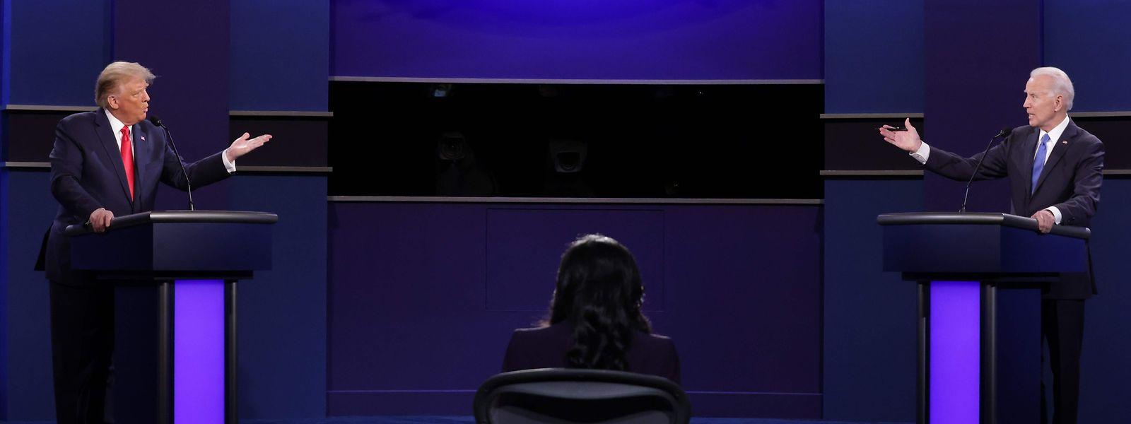 Die Kandidaten schafften es beim zweiten TV-Duell, gesittet zu debattieren - harte Angriffe inklusive.