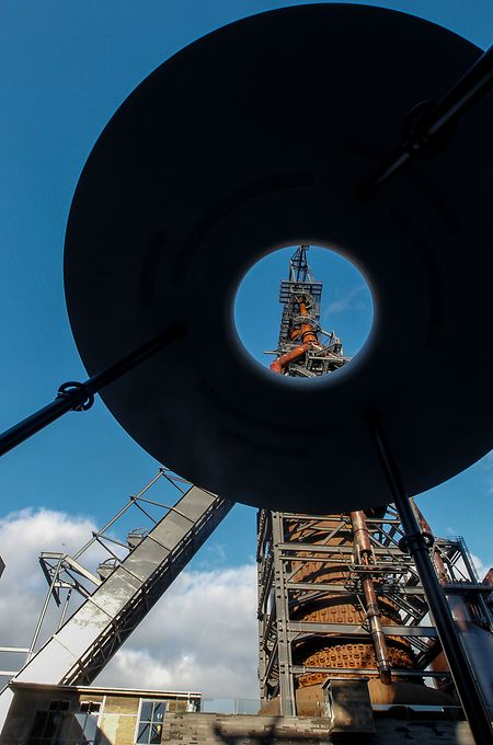 Les installations sidérurgiques conservées rappelleront aux visiteurs internationaux d'Esch 2022 le passé industriel de la ville.