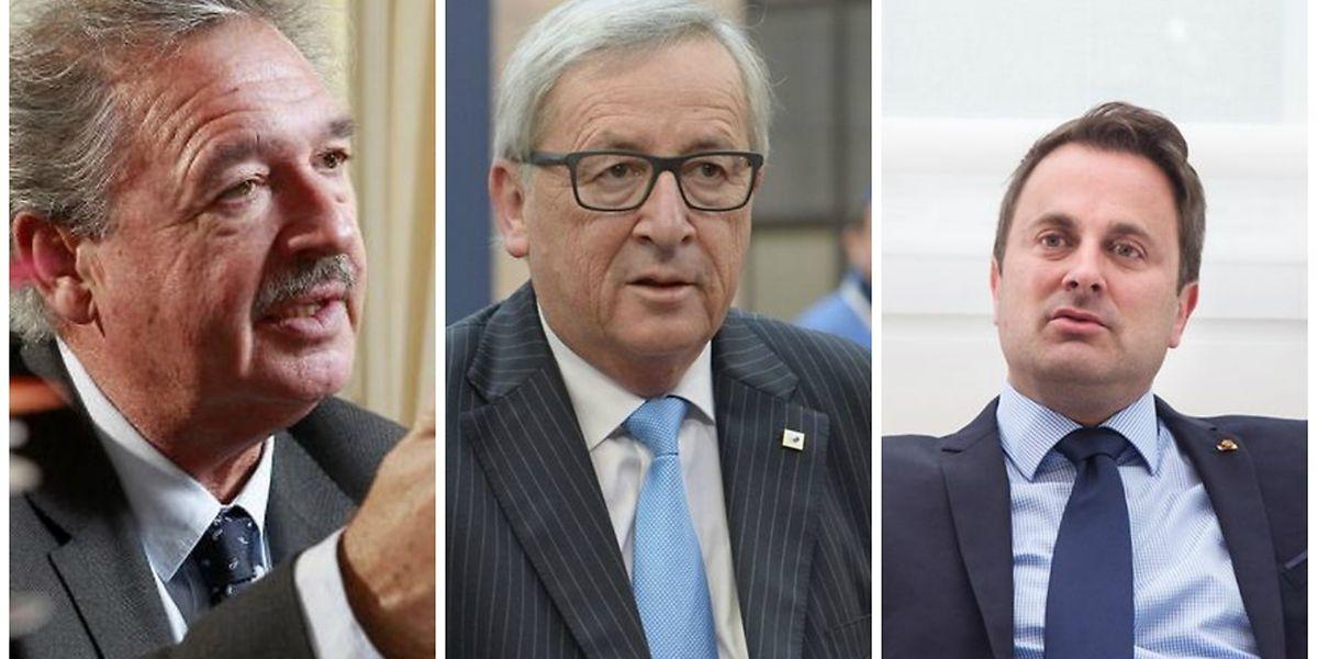Asselborn, Juncker e Xavier Bettel lamentam saída do Reino Unido da UE