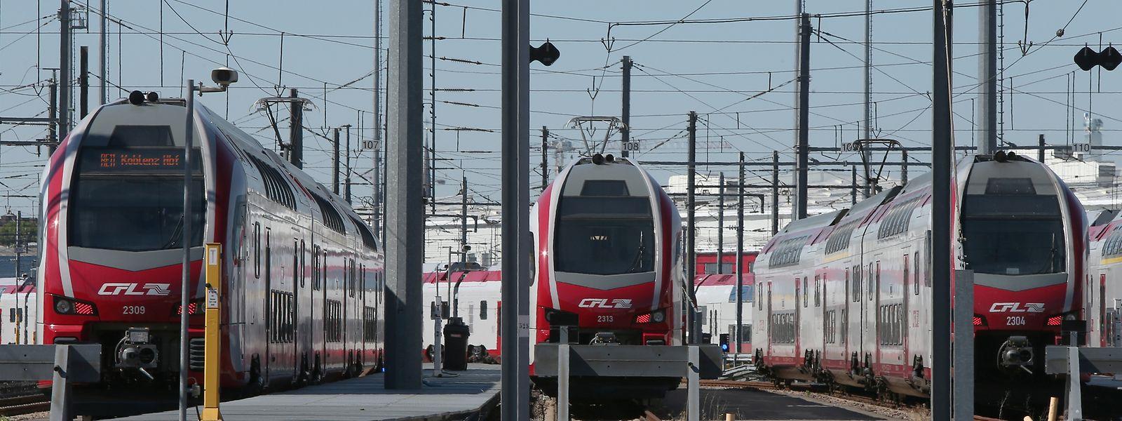 Un nouveau record de fréquentation des trains a été atteint l'année dernière avec 22,9 millions de passagers.