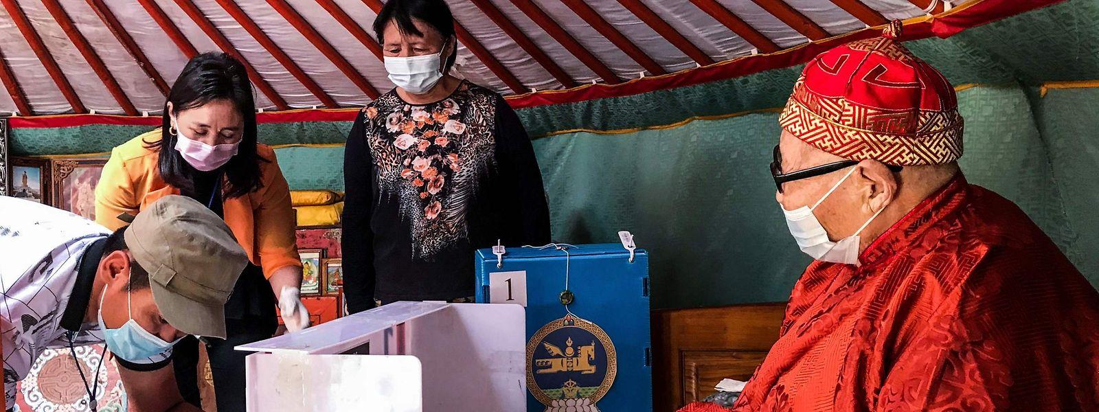 In der Mongolei wird am 24. Juni gewählt.