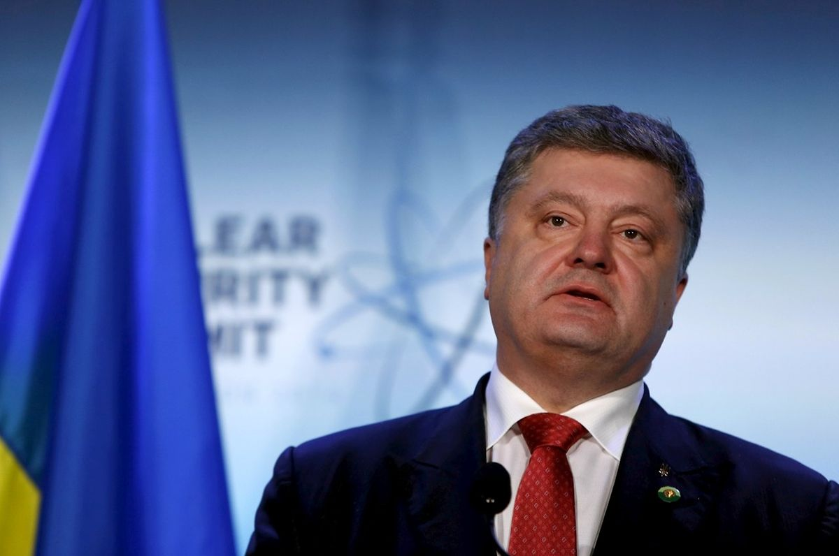 Im zweiten Jahr nach seinem Wahlsieg hat Petro Poroschenko seinen Süßwarenkonzern noch nicht verkauft.