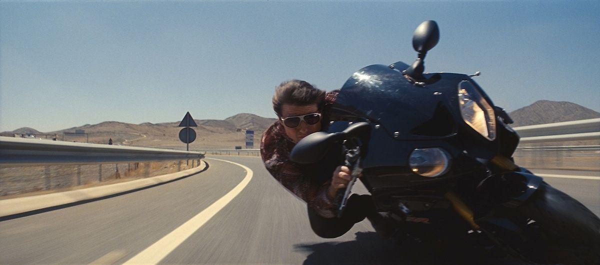 Rasante Action: Cruise drehte die meisten Stunts selbst.
