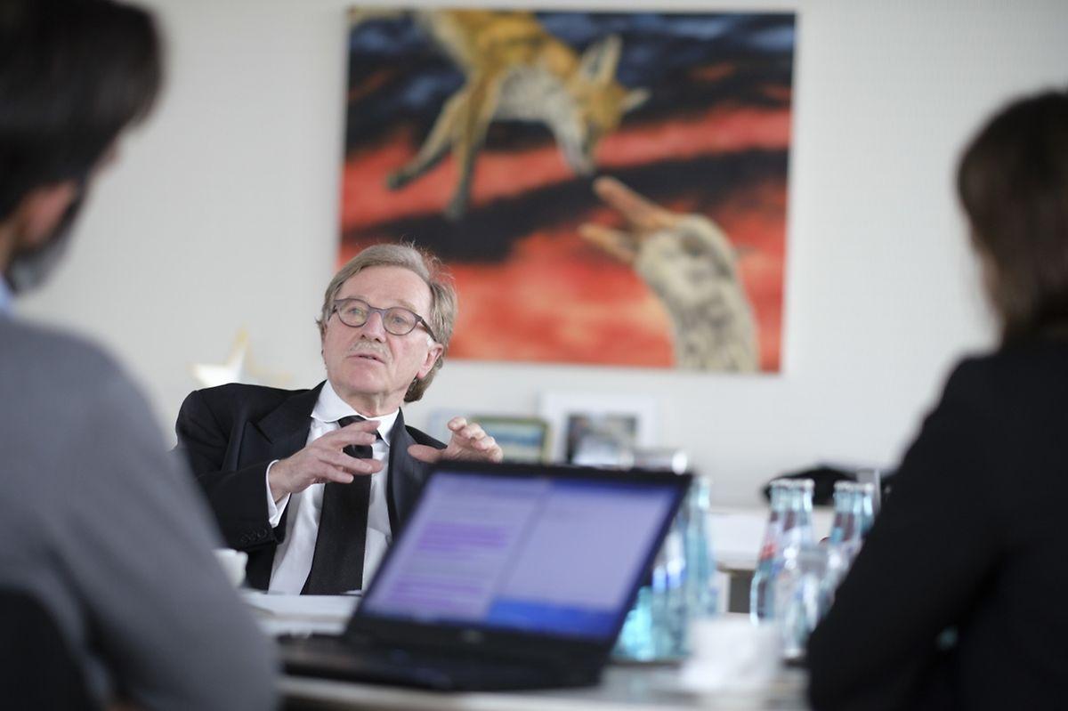 Interview de Monsieur Yves Mersch