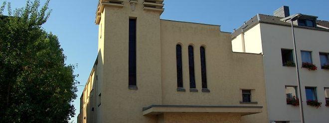 """Die Kapelle der  """"Communauté Dominicale du Christ-Roi"""" in Belair."""