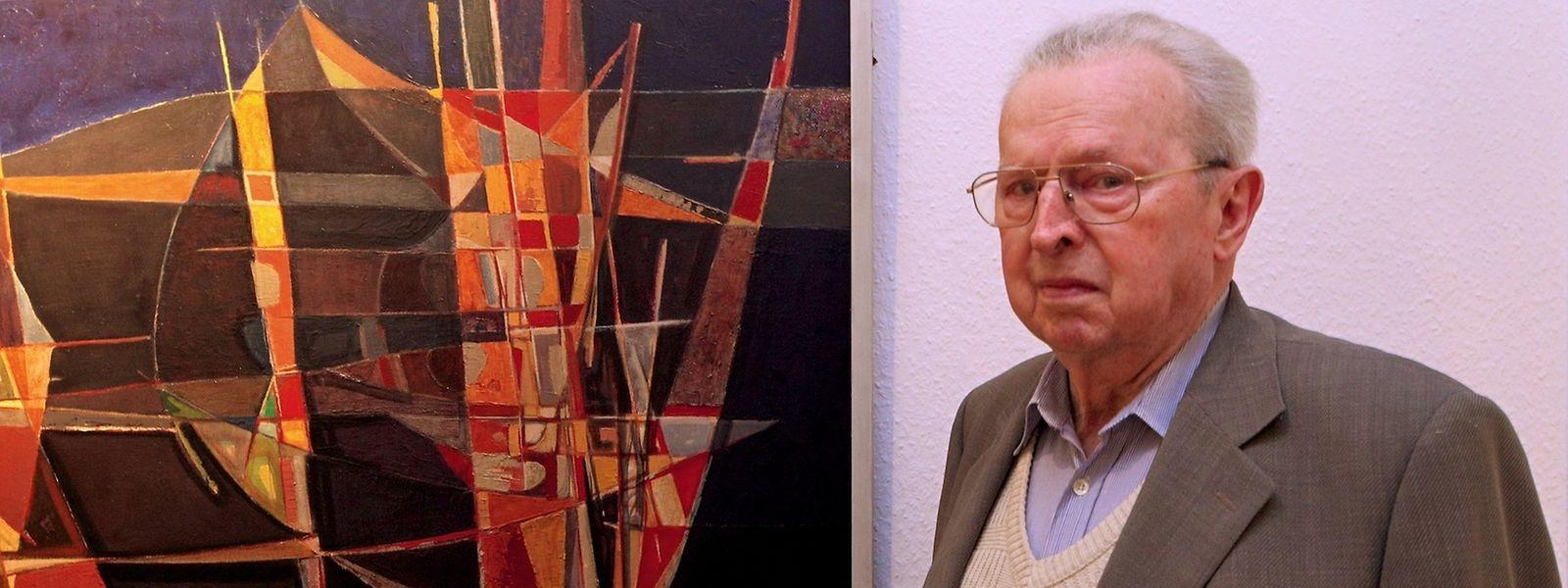 """Henri Dillenburg war Mitbegründer der """"Iconomaques""""-Gruppe."""
