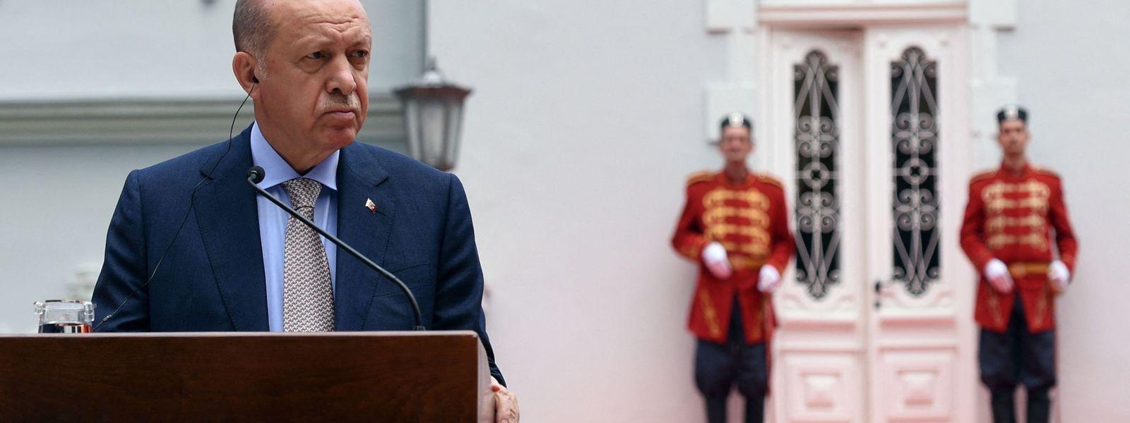 Der türkische Präsident Recep Tayyip Erdogan hat die Zustimmung der Mehrheit der Bevölkerung verloren.