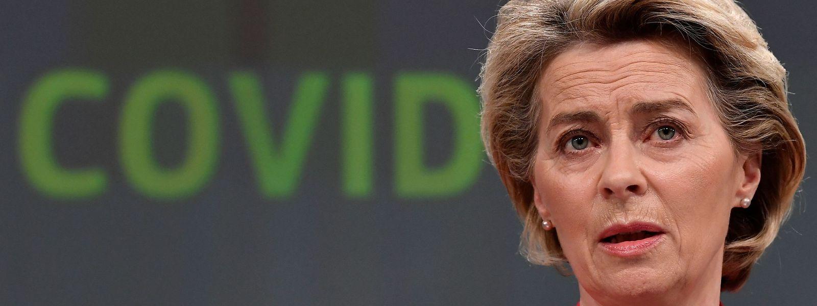 EU-Kommissionspräsidentin Ursula von der Leyen plant einen Impfnachweis, der Reisefreiheit ermöglichen soll.