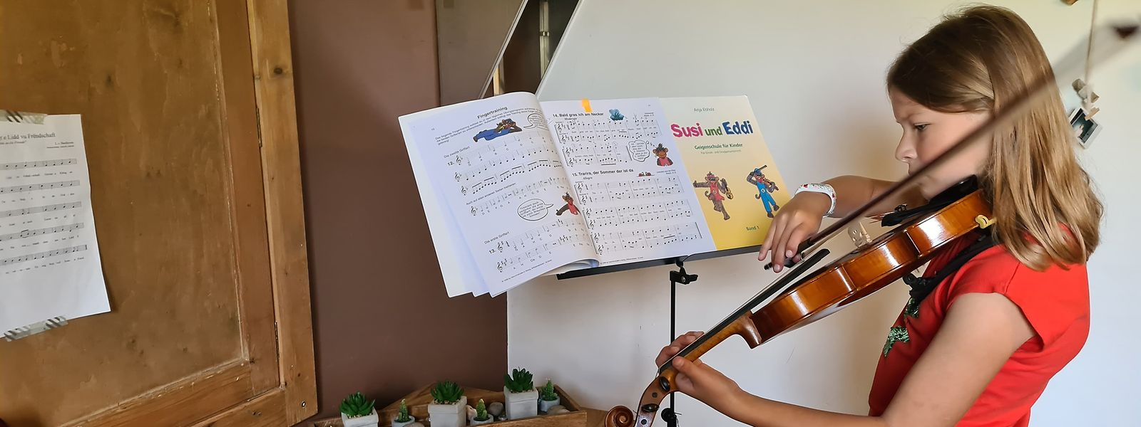 Während die Individualkurse in den meisten Musikschulen wieder aufgenommen wurden, werden diese bei der UGDA größtenteils weiter via Videochats durchgeführt.