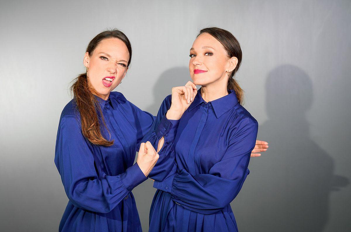 Das doppelte Lottchen: Carolin Kebekus zeigt in ihrer neuen Show gleich mehrere Seiten ihres Könnens.