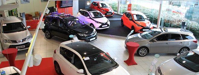 Trotz Autofestival: Die Verkaufszahlen von Neuwagen gingen 2015 zurück.