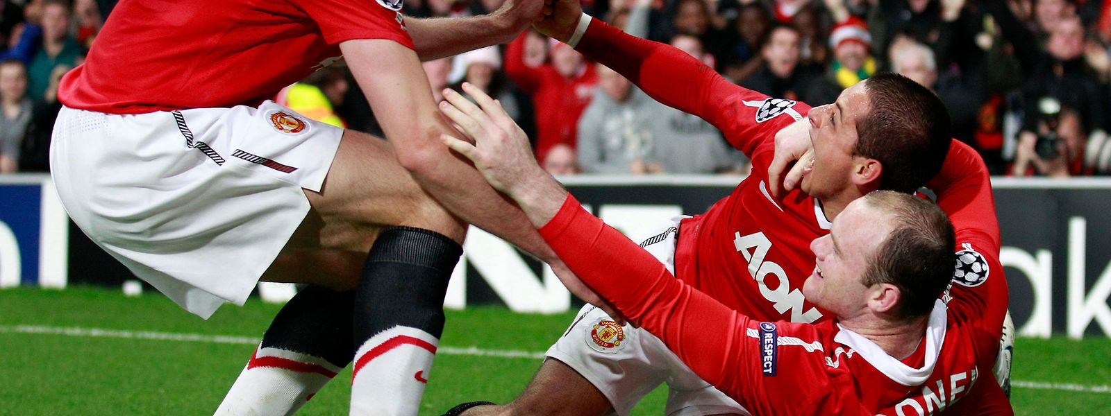 Javier «Chicharito» Hernandez a notamment fait les beaux jours de Manchester United au côté de Wayne Rooney.