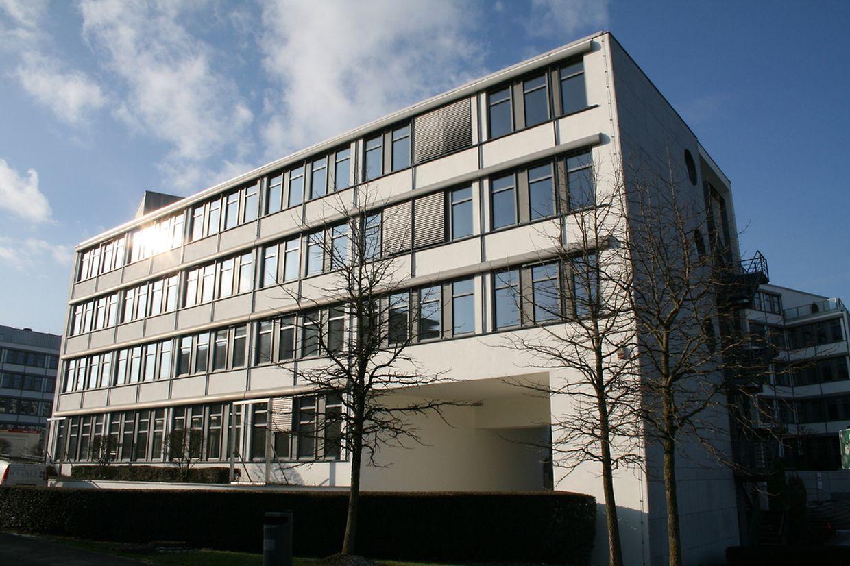 Le bâtiment Ariane, à l'angle de la route d'Esch et de la rue Guillaume Kroll