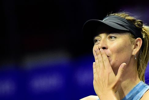 Sharapova: Glamouröser Abgang