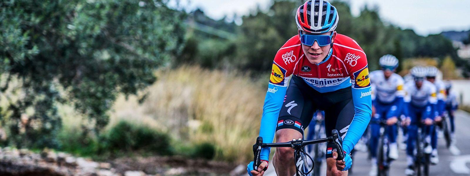 Classiques flandriennes et Tour de France rythmeront la première partie de saison de Bob Jungels.