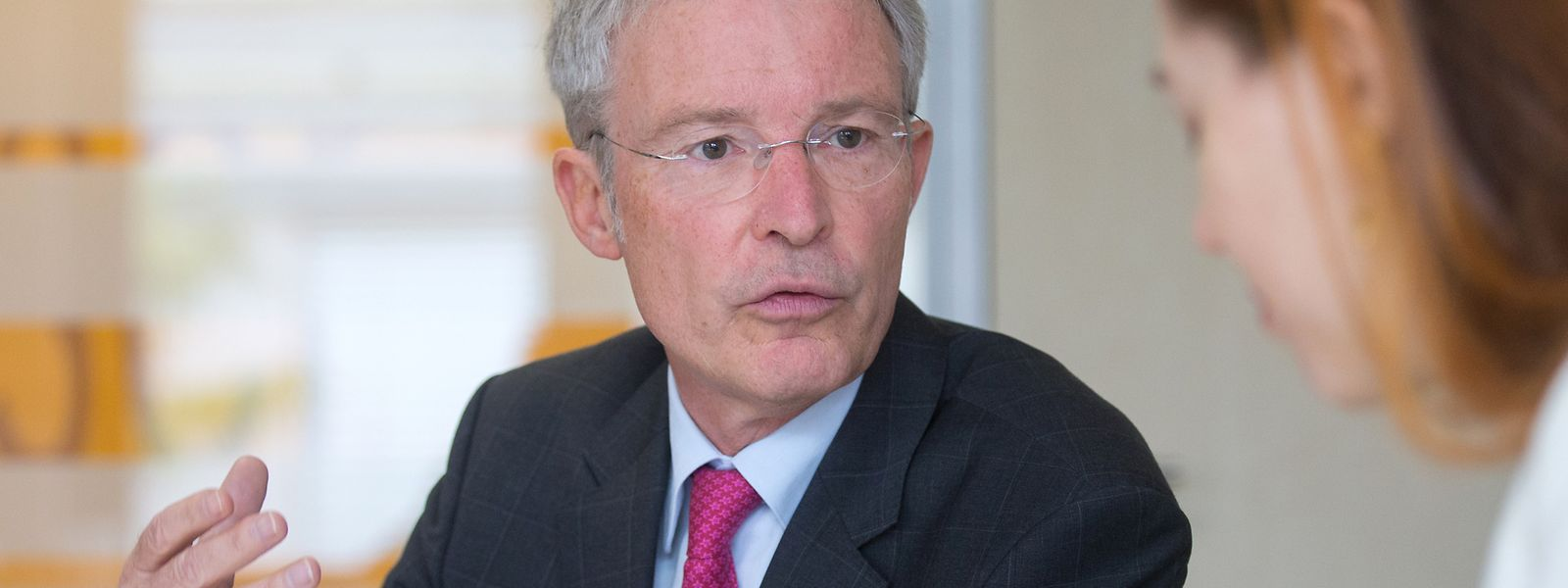 """Paul Junck, der Präsident der """"Féderation des hopitaux"""", war am Dienstagmorgen bei RTL im Interview."""