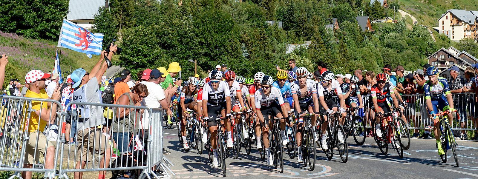 Das Peloton muss im kommenden Sommer bei der Tour de France hinauf nach l'Alpe d'Huez.