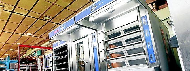 In diesem Bäckerei-Ofen stecken viele Ideen. Der nächste Workshop der eXchange√Innovate findet am 24. September 2011 beim Ofenhersteller Hein in Strassen statt, der solche öfen herstellt.