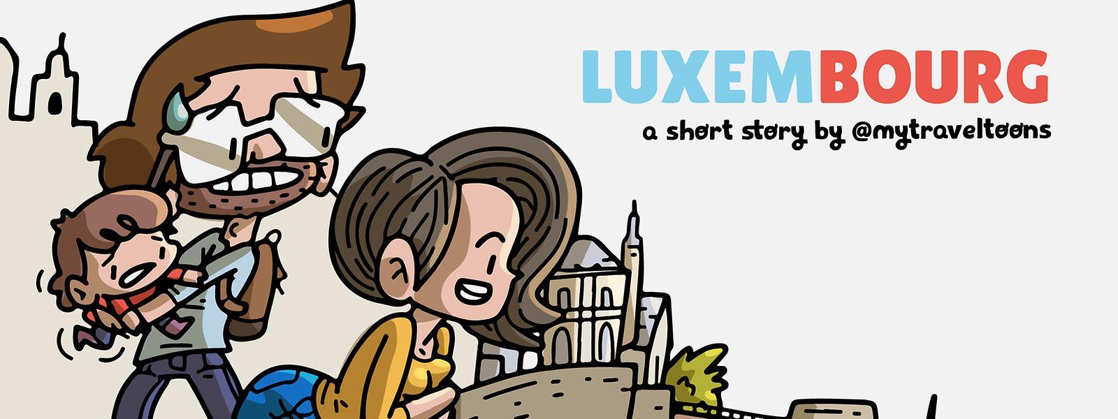 Une bande dessinée qui regorge d'anecdotes sur le Luxembourg.