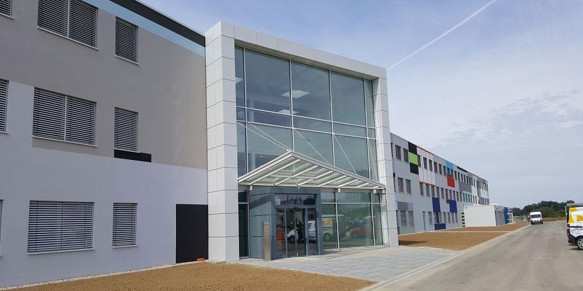 Das Modulgebäude mit der Kennung JMO-T entstand in nur sechs Monaten.