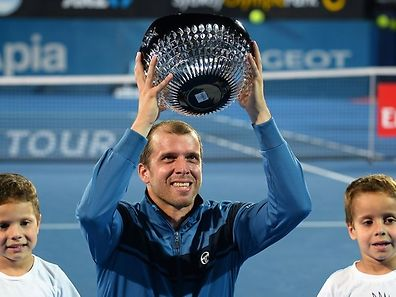 Mit dem Turniersieg in Sydney machte Gilles Muller das Jahr 2017 schon früh zu einem besonderen.