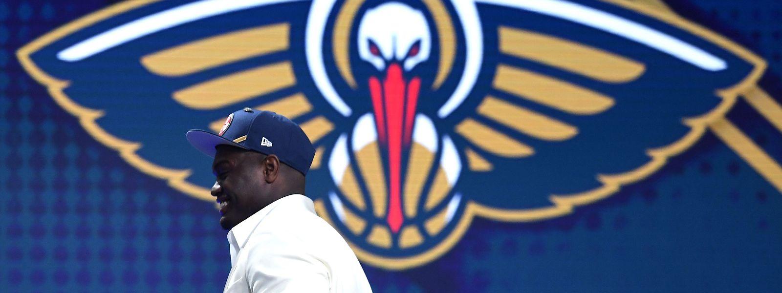 Choisi par les Pelicans de la Nouvelle-Orléans, Zion Williamson a été le roi de la Draft 2019 en NBA