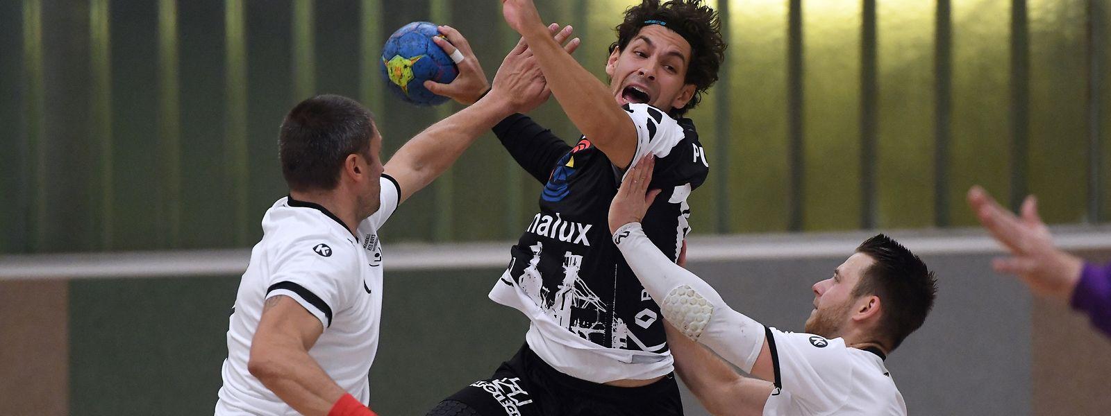 Sacha Pulli gegen Damir Rezic und Aldin Zekan