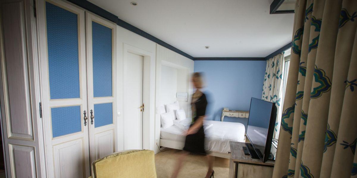 Entre 2001 et 2004, la vicomtesse Amicie de Spoelberch avait ses habitudes à l'Hôtel Parc Belair. Elle logeait toujours dans une double chambre réservée au nom de son mari Luka Bailo.