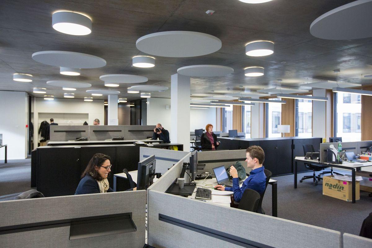 Un espace de travail moderne: visite guidée dans les nouveaux locaux