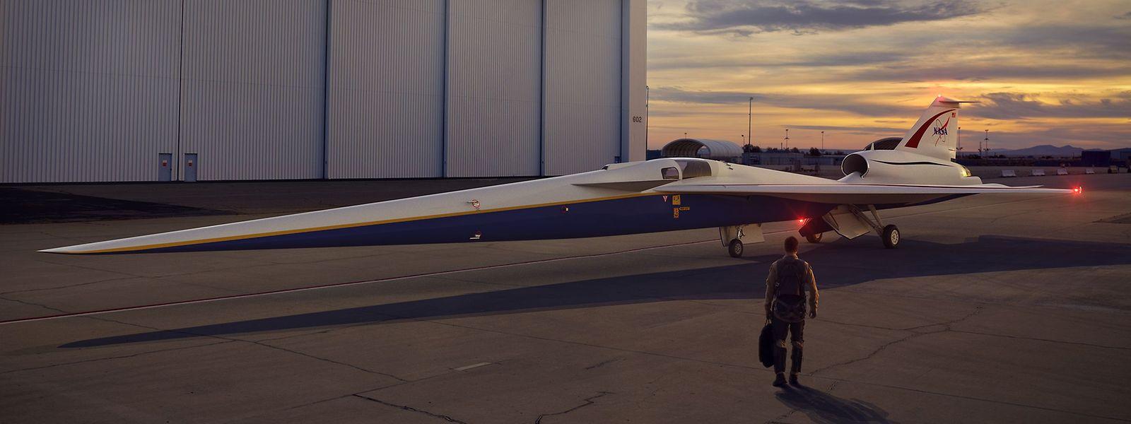 Das X-plane soll von Lockheed Martin entwickelt werden.