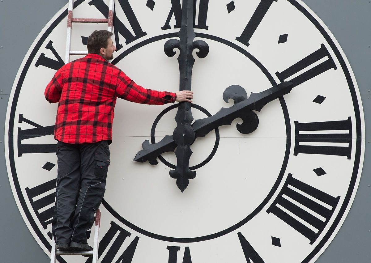 While each of the EU's 28 member states can pick its time zone, switches from summertime to wintertime are centrally regulated Photo: AFP