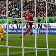 Torjäger Robert Lewandowski hat Bayern München nach vier Pflichtspielen ohne Sieg erlöst.