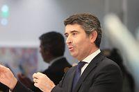 José Luis Carneiro, secrétaire d'Etat aux Communautés portugaises, de passage au Luxembourg lundi.