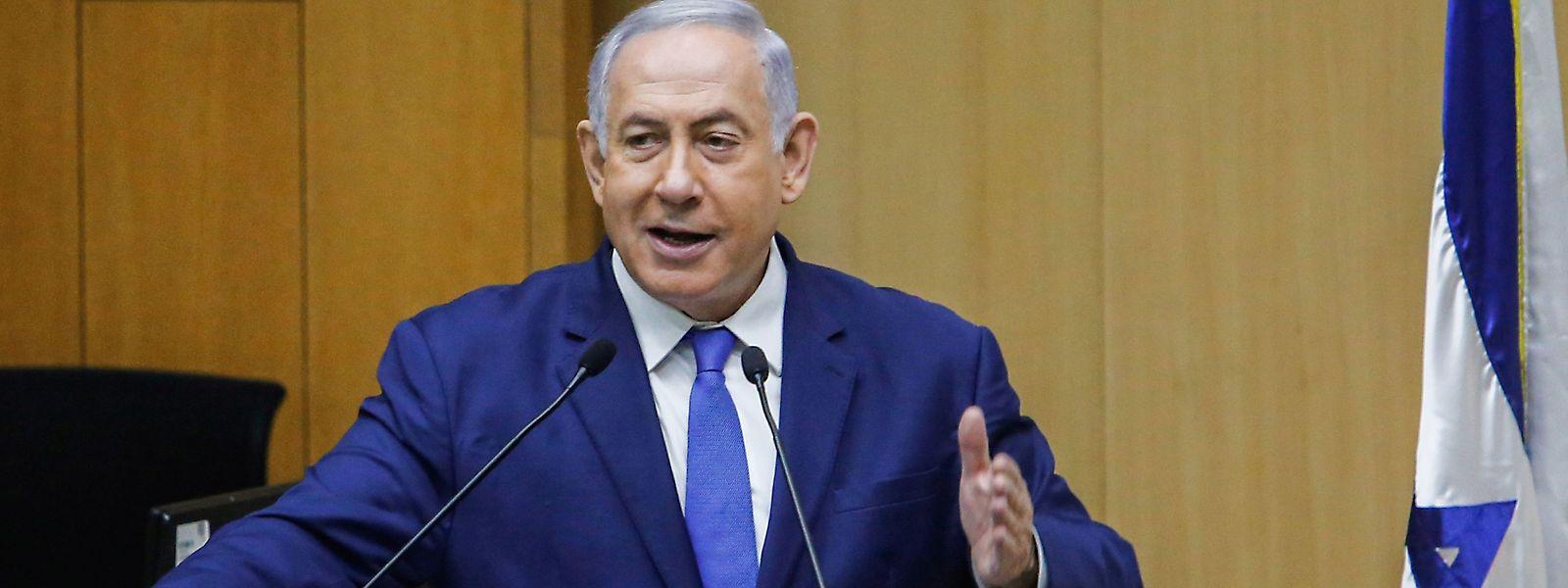 Le Premier ministre Benjamin Netanyahu a maintenu ses propos devant le parlement israélien ce mercredi.