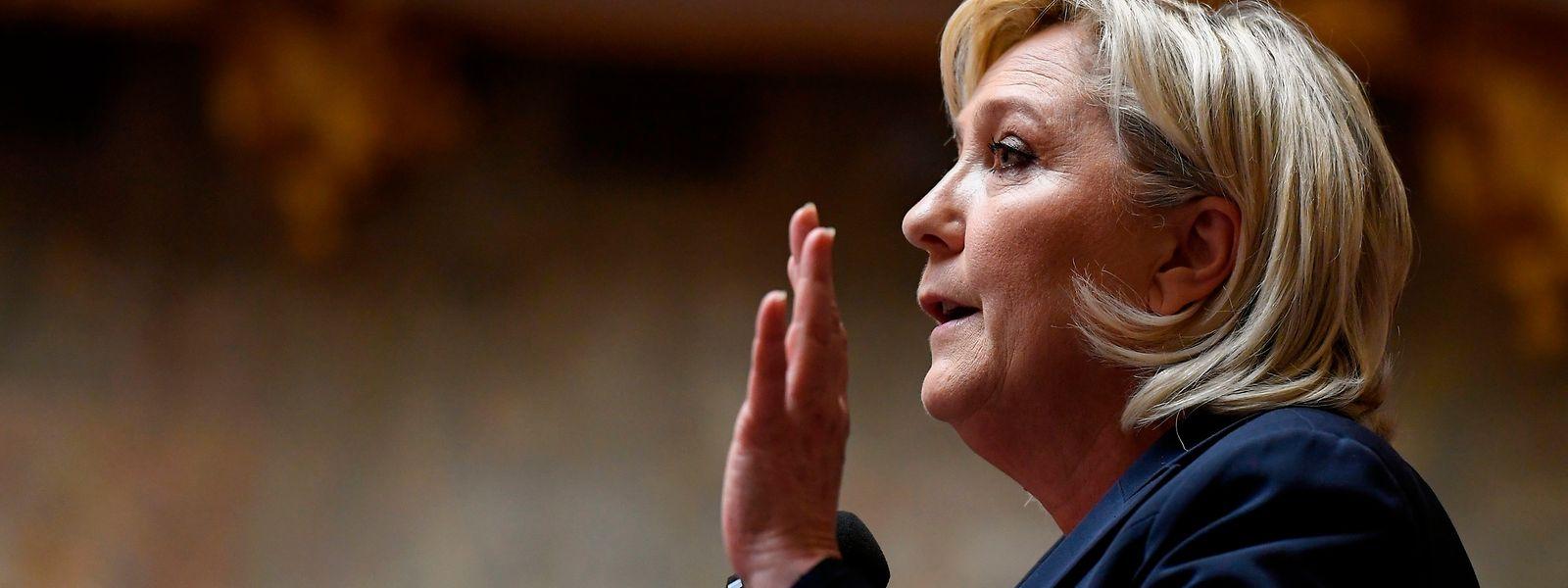 Marine Le Pen bemüht sich, ihre Partei salonfähig zu machen.